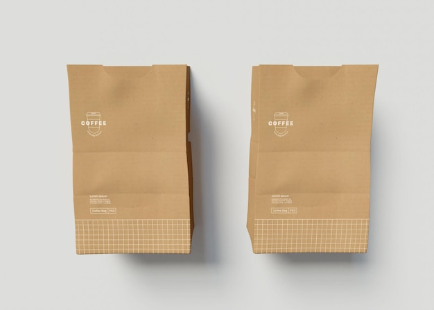 Maquette de sac