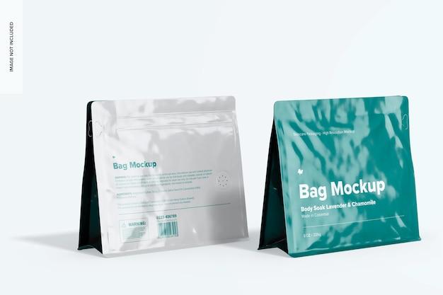 Maquette de sacs de 8 oz