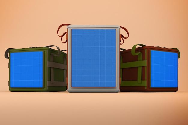 Maquette de sacs de livraison
