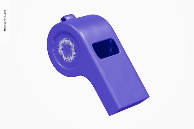 Maquette de sifflet en plastique, flottante