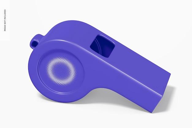 Maquette de sifflet en plastique
