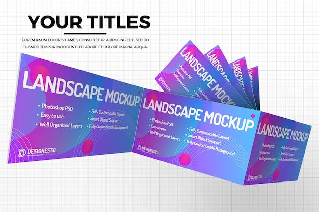Maquette de site web innovante