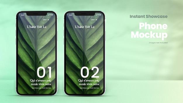 Maquette de smartphone classique