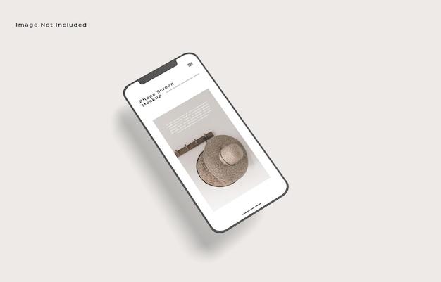 Maquette De Smartphone écran Isolée PSD Premium