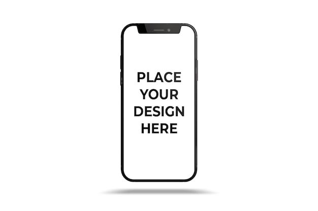 Maquette de smartphone isolée