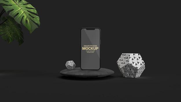 Maquette de smartphone de luxe