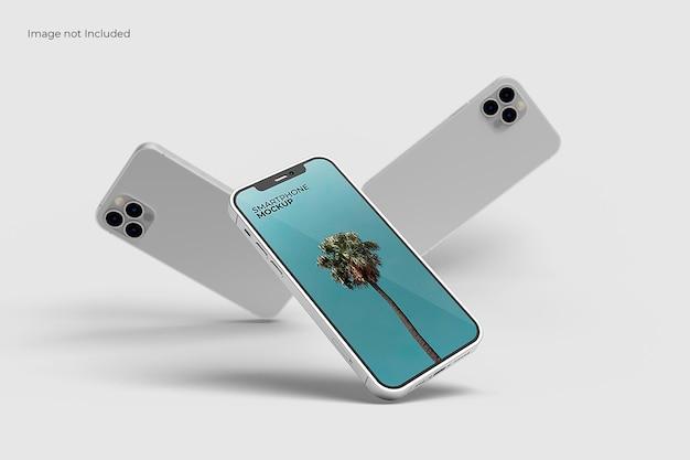 Maquette de smartphone merveilleuse