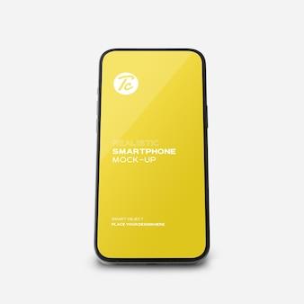 Maquette de smartphone noir pour votre conception