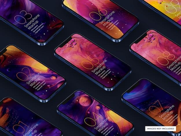 Maquette de smartphone pour les conceptions d'interface utilisateur