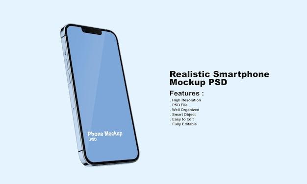 Maquette de smartphone premium réaliste