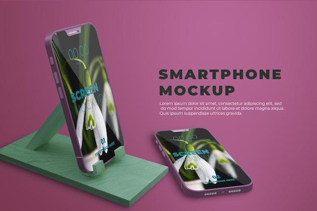 Maquette de smartphone réaliste