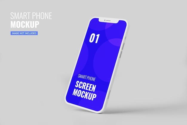 Maquette de smartphone en rendu 3d
