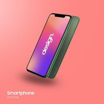 Maquette de smartphone super réaliste