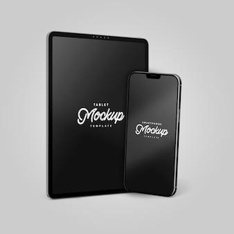 Maquette de smartphone et tablette