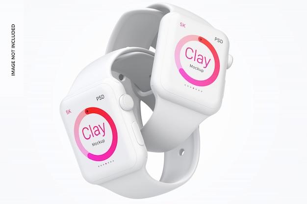 Maquette de smartwatch