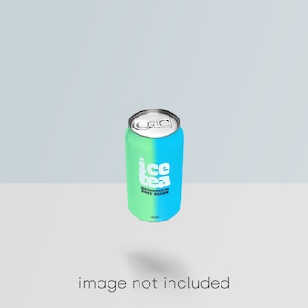 Maquette de soda psd