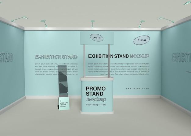Maquette de stand d'exposition