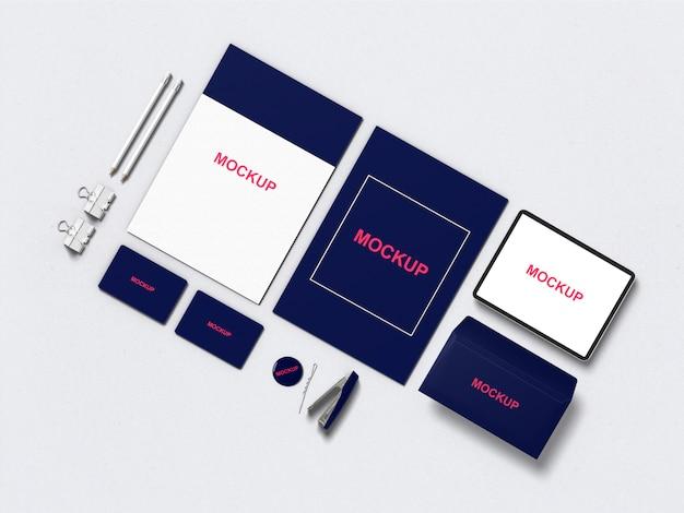 Maquette stationnaire / de marque