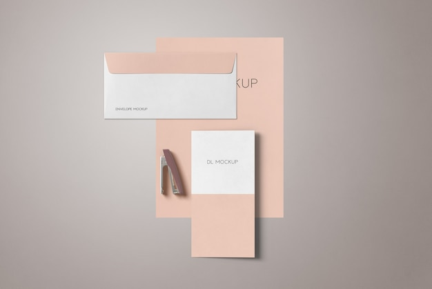 Maquette stationnaire simple