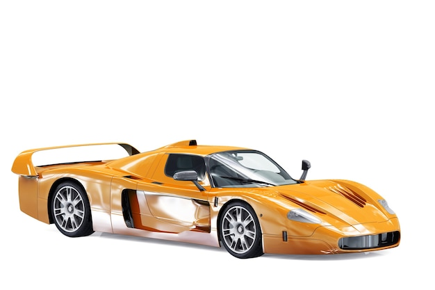 Maquette de super voiture 2005