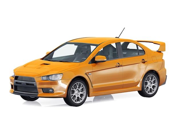 Maquette de super voiture 2009