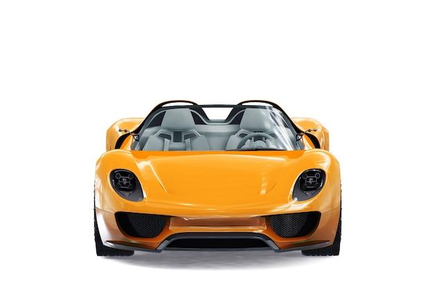 Maquette de super voiture 2011
