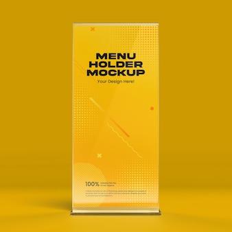 Maquette de support de menu 01