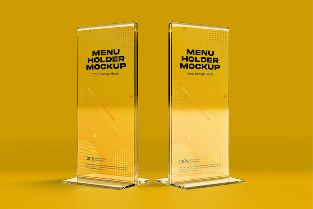 Maquette de support de menu 02