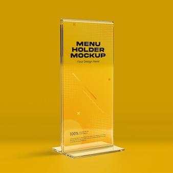 Maquette de support de menu 03
