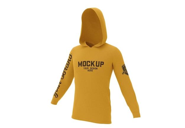 Maquette de sweat-shirt à capuche