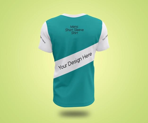 Maquette De T-shirt à Manches Triés Pour Hommes Showcase PSD Premium