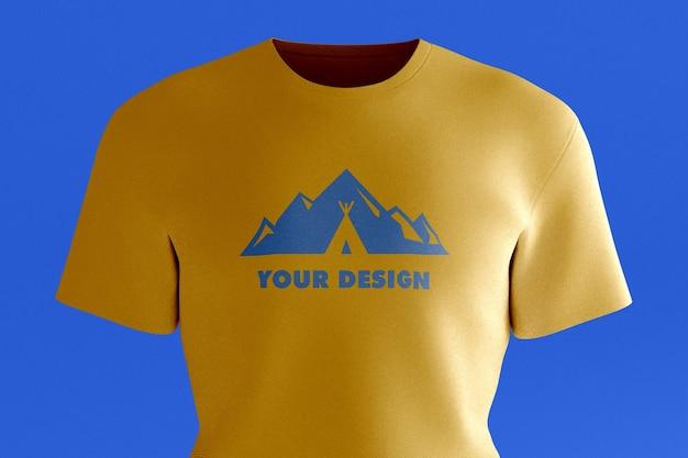 Maquette de t-shirt uni