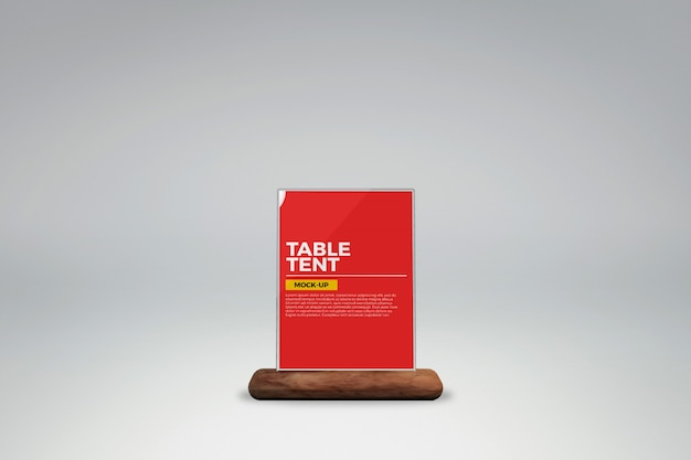 Maquette de table en verre
