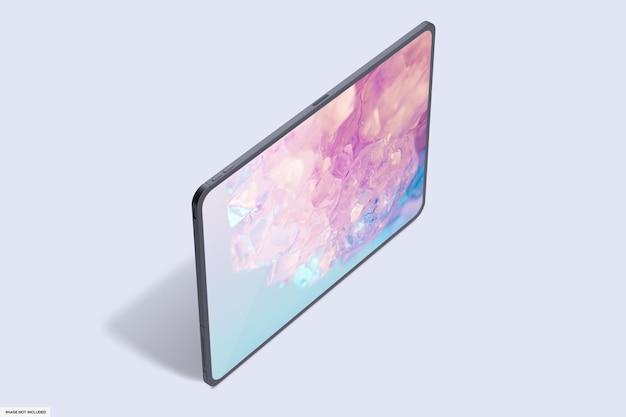 Maquette de tablette intelligente réaliste