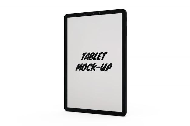 Maquette de tablette isolée