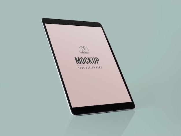 Maquette de tablette plein écran