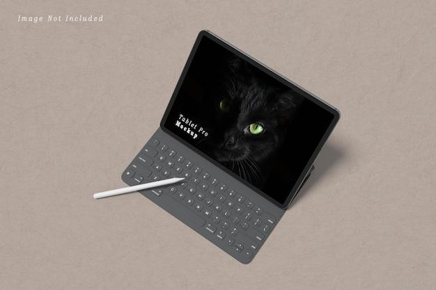 Maquette de la tablette pro