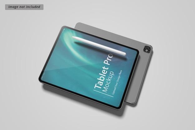 Maquette de tablette pro
