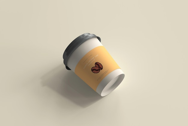 Maquette De Tasse à Café En Papier De Petite Taille Psd gratuit