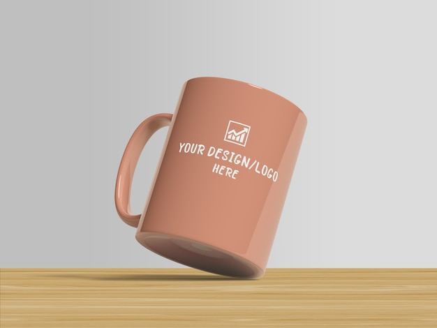 Maquette de tasse de café pour le merchandising
