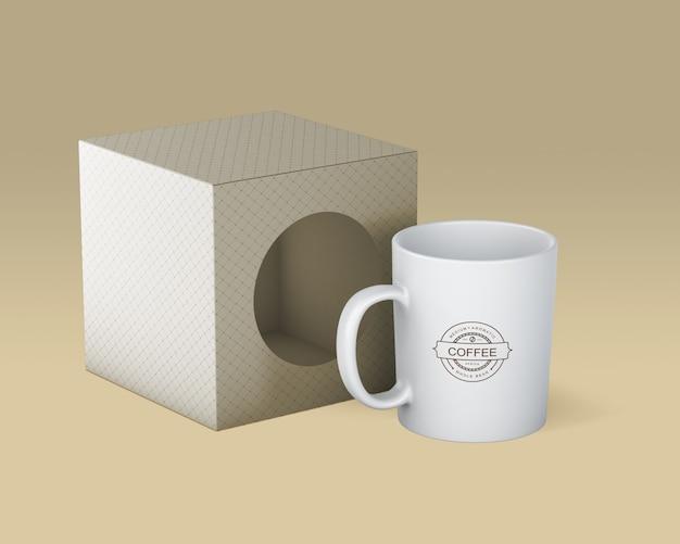 Maquette de tasse à café