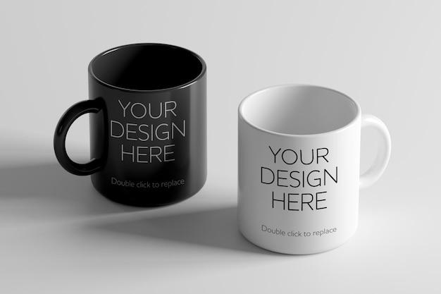 Maquette de tasse en céramique - rendu 3d