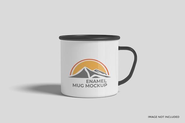 Maquette de tasse en émail
