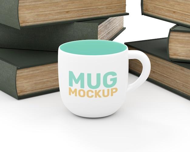 Maquette de tasse minimaliste
