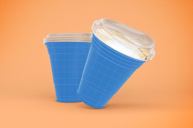 Maquette de tasse sans paille