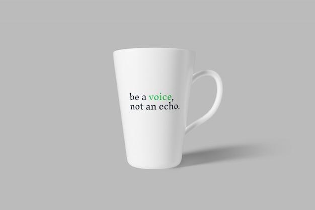Maquette de tasse / tasse