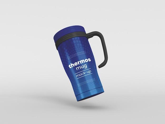Maquette de tasse thermos