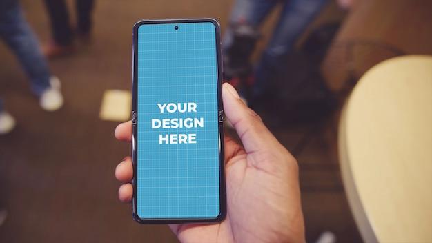 Maquette de téléphone android