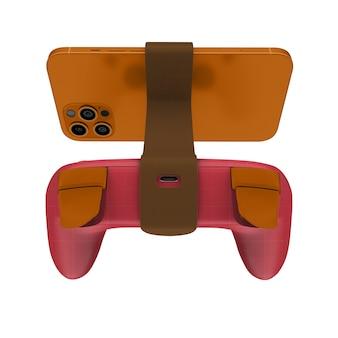 Maquette de téléphone gamepad