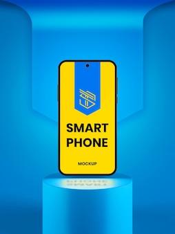 Maquette de téléphone intelligent moderne